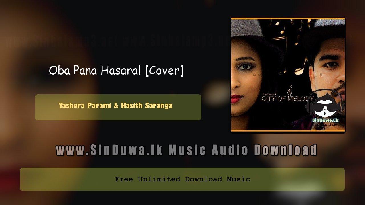 Oba Pana Hasaral (Cover)